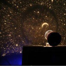 Проектор светодиодный ночной Светильник небо Звезды Луна и Вселенная Купидон Проекционные настольные часы, подарок на Рождество, подарок для детей, сна романтическое украшение светильник s
