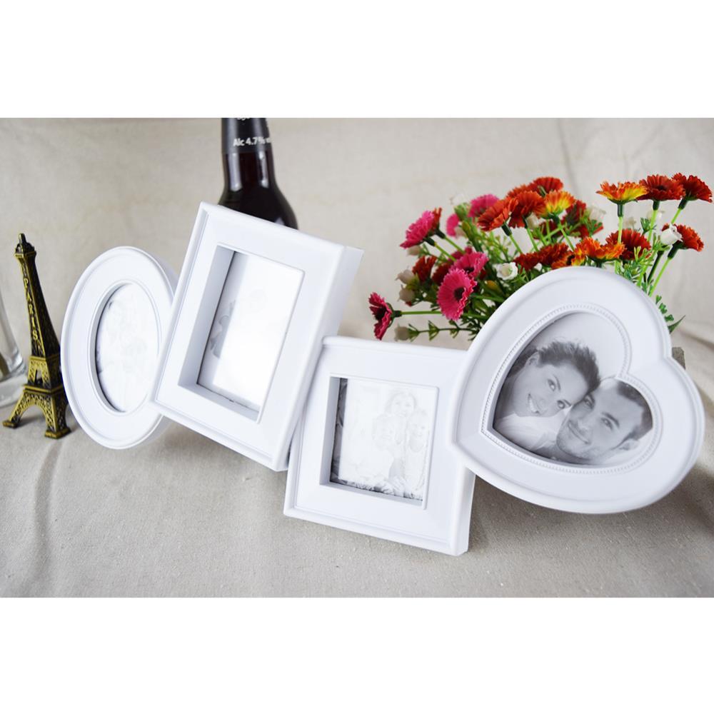 Collage De fotos New familia blanco / negro Marcos De cuadros 4 x 6 ...