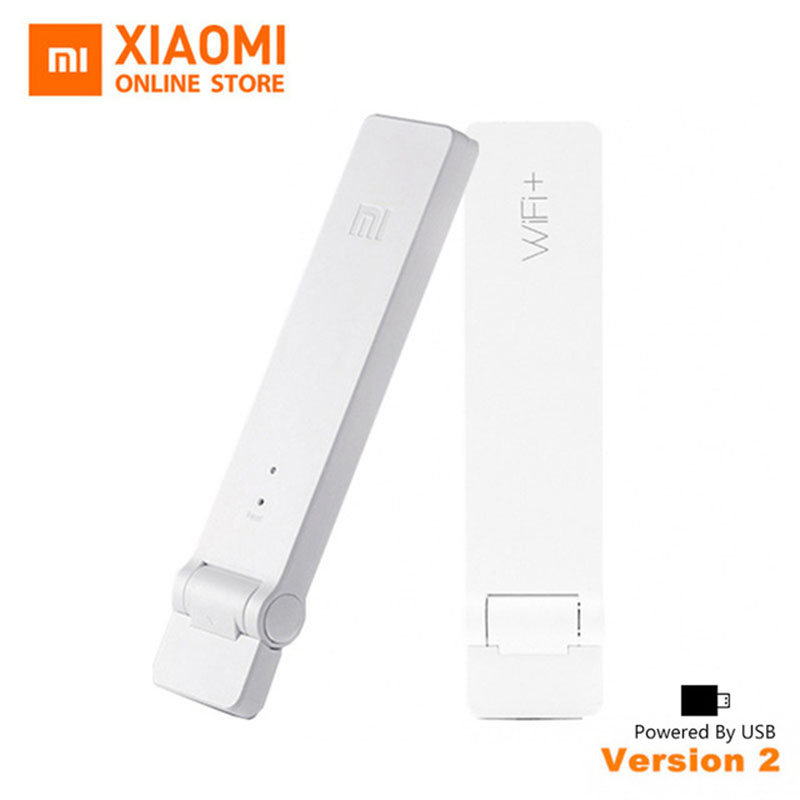 Original Xiaomi WiFi Mi Amplifier 2 Wireless Wi-Fi Repeater 2 Network Router Extender Antenna Wifi Repitidor Signal Extender 2 original xiaomi wifi electric power cat repeater 300mbps 2 4g wireless wi fi repeater network router 802 11n dual antennas