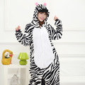 Creative zebra Cartoon Design Animal Cosplay Pajamas Kids Boys Girls Flannel Sleepers Female Male Pijamas pyjamas Hooded Style