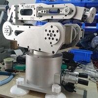 6 axis robot arm robot six degree of freedom harmonic deceleration step system desktop industry robot