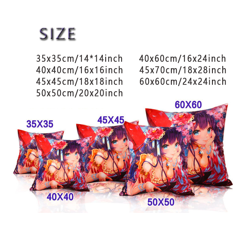 DIY Photo Custom Design Print Made Pillow Case Soft 2 Sides Printed Customized Cushion for Back Chair Rectangulart Dropshipping in Pillow Case from Home Garden