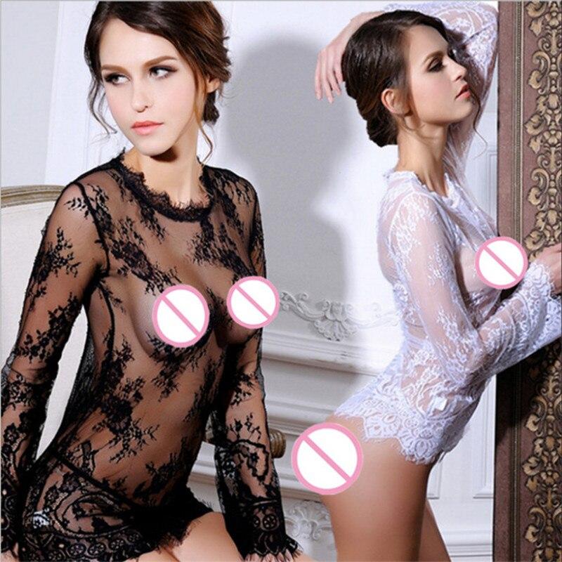 lingeria sexy lingerie women lace teddy erotic transparent lingerie sexy bodysuit underwear costumes bodystockings font b