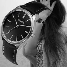 c5b7edea25f New Fashion Women Bracelet Watch Roman numberals Mulheres PU LEATHER  Analógico Quartz Relógio de Pulso relojes