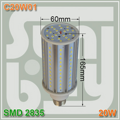 Free shipping led corn light 20W E27 360 degree SMD2835 aluminum high quality 2 years warranty 2pcs brand new high quality superb error free 5050 smd 360 degrees led backup reverse light bulbs t15 for jeep grand cherokee