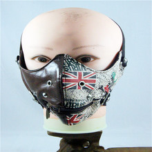 10pcs/Pack New fashion mask retro England rice flag breathable mask Europe and the United States popular Gothic masks