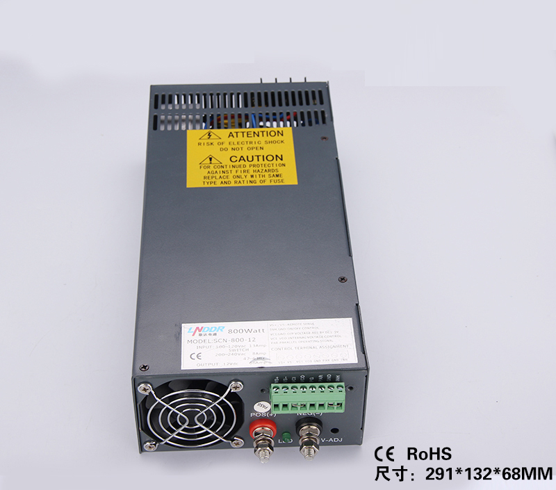 все цены на 800W 12V 66A  Single Output Switching power supply for LED Strip light  AC-DC SCN-800-12 онлайн