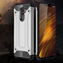 Shockproof Armor Coque Cover 5.99For Xiaomi Pocophone F1 Case For Xiaomi Mi Pocophone Poco F1 Phone Back Coque Cover Case