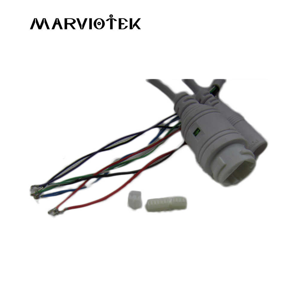 small resolution of ip camera module video power cctv cable with rj45 and dc 12v port support ip