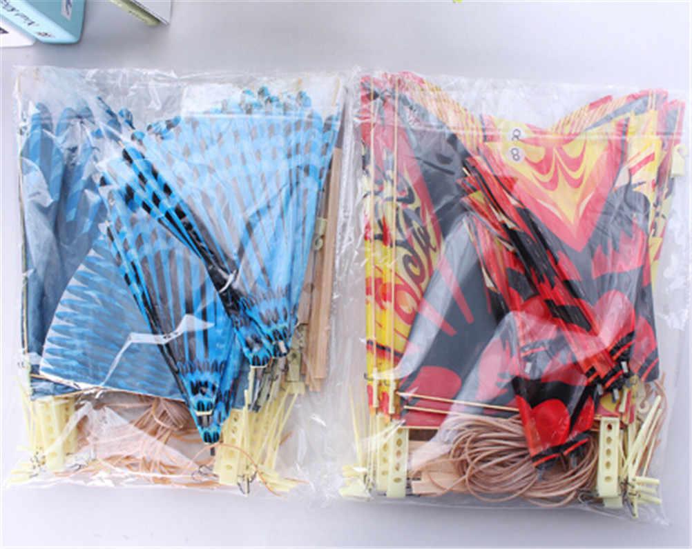 EHBqna Fashion 1PC Birds Model Handmade DIY Rubber Band Power Bionic Air Plane Ornithopter Kite Toys Children Assembly Gift