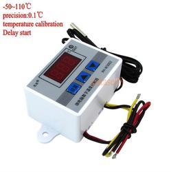 Digitale LED Temperatur Controller 10A Thermostat Control Schalter mit Sonde sensor W3002