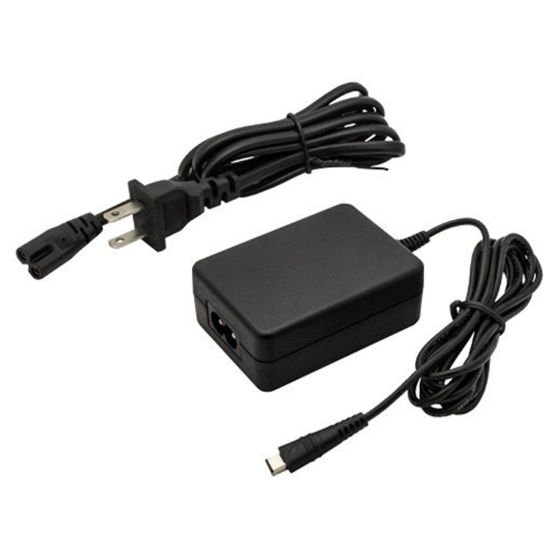Canon CA-110 CA110 Replacement AC Power Supply Adapter Charger for VIXIA HF R200 R20 R21 LEGRIA HF R26 R28 R206 Camcorders Black