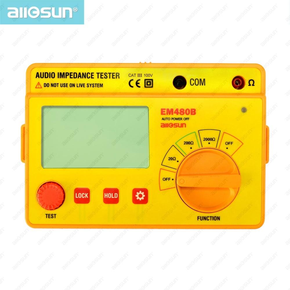 ALL SUN EM480B Probador de impedancia de audio Rangos de prueba - Instrumentos de medición - foto 5
