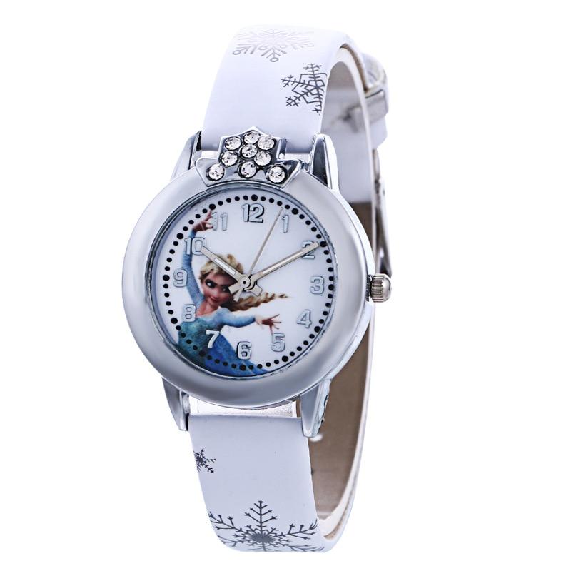 New Cartoon Cute Brand Leather Quartz Watch Children Kids Girls Boys Casual Fashion Bracelet Wristwatches Clock