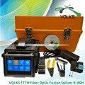 Ftth fibra óptica de empalme máquina encoladora de la fusión X-86H envío gratis