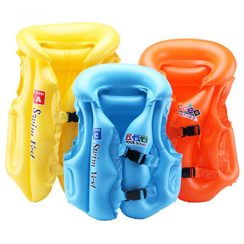 Baby Swim Ring Float PVC Life Buoy Swim Vest Inflatable Swimming Wear Suit Baby Toddler Bath Inflatable Ring Toy For Dropship