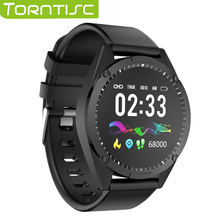 Torntisc 1.3 Inch Single Touch Screen Smart Watch Men Women For Android IOS Heart Rate Blood Pressure Oxygen Tracker Smartwatch