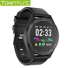 Torntisc 1,3 дюйма одиночные умные часы с сенсорным экраном для мужчин и женщин для Android IOS пульсометр кровяное давление кислородный трекер умные часы