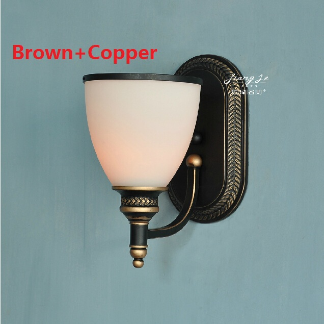 American Country Vintage Wall Light Nordic RH Loft Industrial Decor E27 Bedside Lamp Fixtures Modern Bathroom Luminaire 110 220V american country vintage wall light nordic rh loft industrial decor e27 bedside lamp fixtures modern bathroom luminaire 110 220v