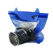 Зеркальные DSLR водонепроницаемый мешок для Nikon Canon Sony цифровой Камера Высокое качество Дайвинг Водонепроницаемый Спорт действий Камера Обложка сумка