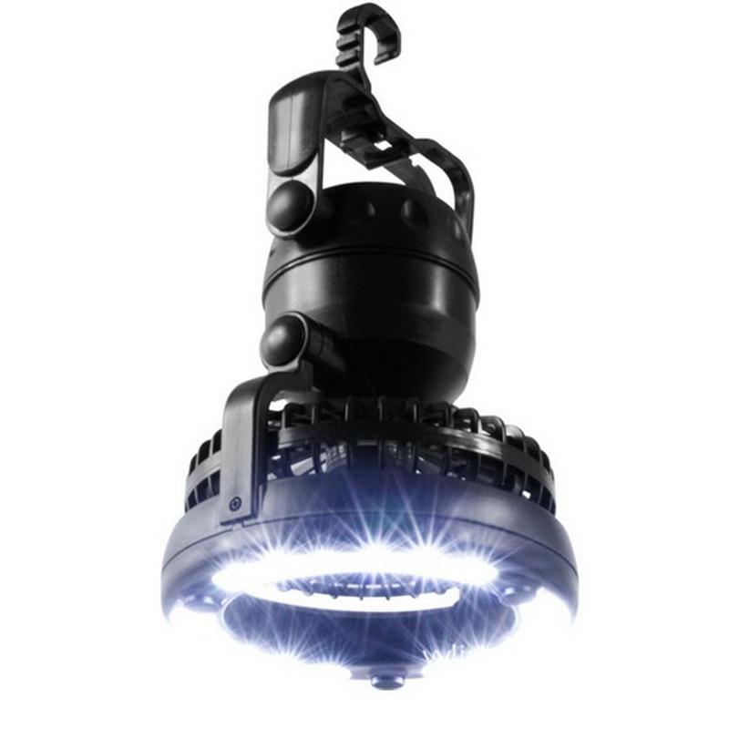 2 In 1 Camping Combo Led Laterne Und Fan Nacht Licht Engineering Kunststoff Taschenlampe Hängen Haken Dauerhafte Modellierung