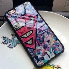 Superman Captain America Case For iphone X  /5(s) SE/6(s) /7/8 Plus