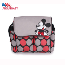 Newest Cartoon Diaper Nappy Bags Waterproof Mummy Bags Maternity Handbag Women Infanticipate Bags Baby Stroller Bag