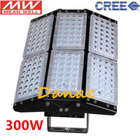 Free Shipping 500W 300W 200W 150W 100W LED Floodlight AC100 277V LED Tunnel Lamps Industrial Commerical Square Garden Lighting