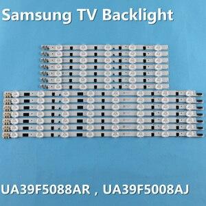 """Image 1 - LED الخلفية قطاع لسامسونج 39 """"التلفزيون UA39F5008AR UA39F5088AR CY HF390BGAV2H 2013SVS39F D2GE 390SCA R3 D2GE 390SCB R3 UE39F5000"""