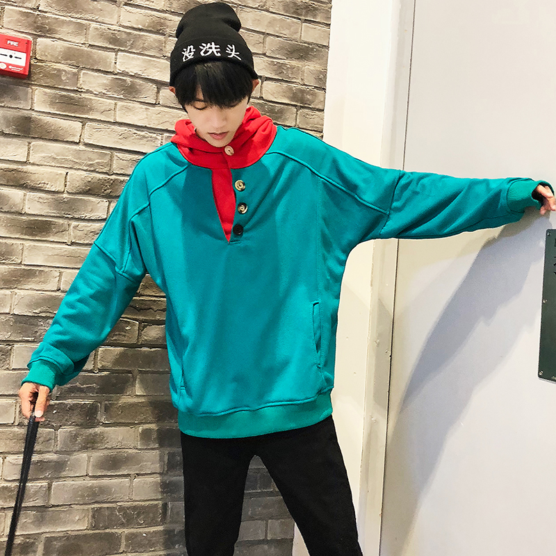 2018 Recommend In Autumn The New listing Fashion Ins Exceed Fire Student Color Even Hat Male Loose hoodies hip hop size M 5XL in Hoodies amp Sweatshirts from Men 39 s Clothing