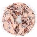Pássaro infinito scarf mulheres inverno flor marca sjaals fulares colar lenço de algodão lenços echarpes bufandas mujer femme 2015