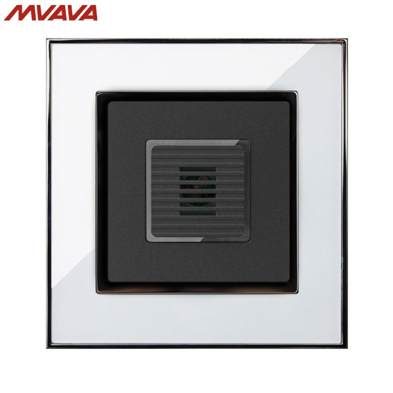 Mvava Voice Light Control 45s Delay Timer Switch Sound Amp Light Control Motion Sensor Time Delay Mirror White Panel Free Shipping In Dimmers From