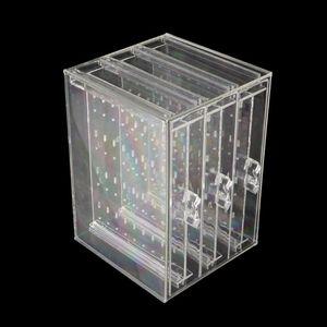 Image 4 - Ücretsiz kargo 200 delik küpe çıtçıt kolye takı vitrin rafı standı organizatör tutucu depolama