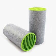 Magnetische küche messerhalter kunststoff keramik messer block mit grün gehört