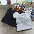 Invierno Bebé Niño Orejas sombrero de Mickey niños crochet cap Girls & Boys Del Bebé Del Knit Beanie Sombreros bebes chapeau