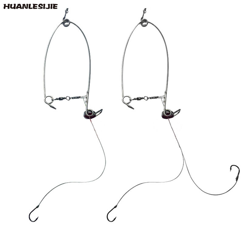Lazy Person All The Waters Fish Hook Automatic Fishing Hook Carbon Steel Fishhooks Top Speed God Fishing Tackle
