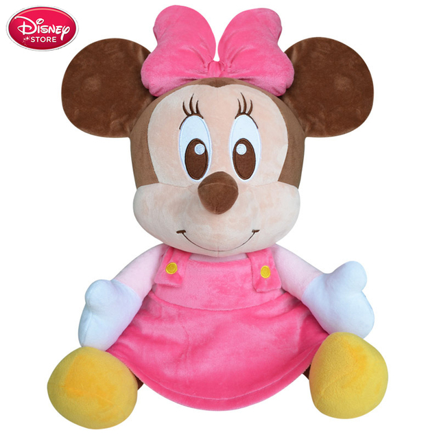 Disney Minnie Mouse Dolls Toys For Girls Birthday Gift Disney Toys