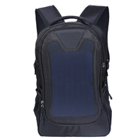 Solar outdoor backpack solar charging pack new business computer bag