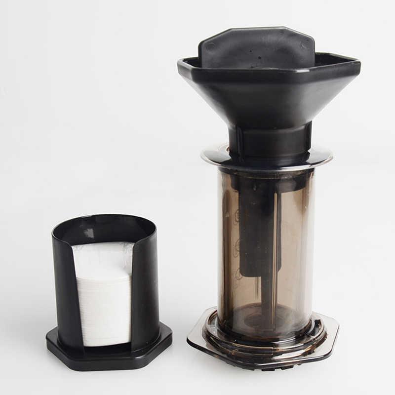 Пресс кофе портативная Кофеварка воздушный пресс Es пресс o машина с 350 шт бумажные фильтры