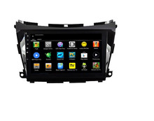 For capacitive touch screen Nissan Murano 2015 car central multimedia with Quad core HD1024*600 mirror link/BT/Radio/USB/WIFI