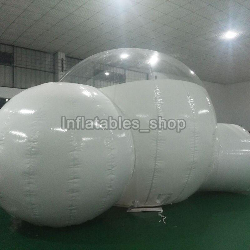 Gonflable bulle arbre tente, gonflable spectacle maison Famille Cour de Camping Tentes, 0.45mm pvc carpas de camping 4 personas chambre