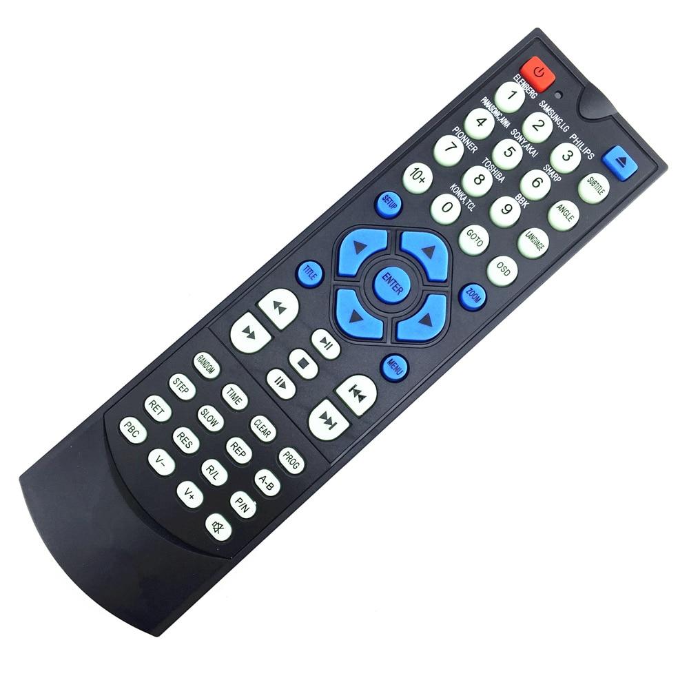 Universal DVD remote control USE FOR WORIDSTAR XF ABS 530T 535T ACONATIC ADVANTE AGIP AIROS AISHENG AIWA AKAI AKIRA ASAHI AV100