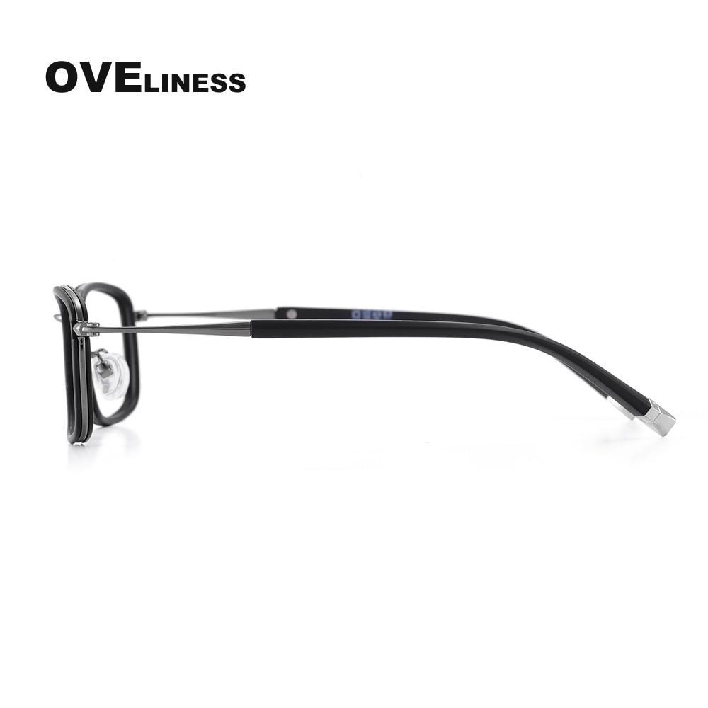 gözlük çərçivələri kişilər üçün Optical Transparent Clear - Geyim aksesuarları - Fotoqrafiya 5
