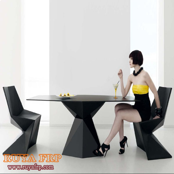 RUYA FRP Material Home Dinning Room Chair,different Color Available Outdoor  Garden Sun Proof Furniture