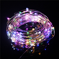 10M 33FT 100 leds USB Operated Outdoor Led Copper Wire String Light Christmas Wedding Party Garland Decoration Fairy Lights
