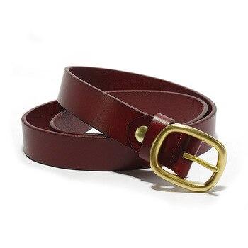 SIKU leather women's belt fashion leisure belts female soft  leather jeans belt 2.8 4