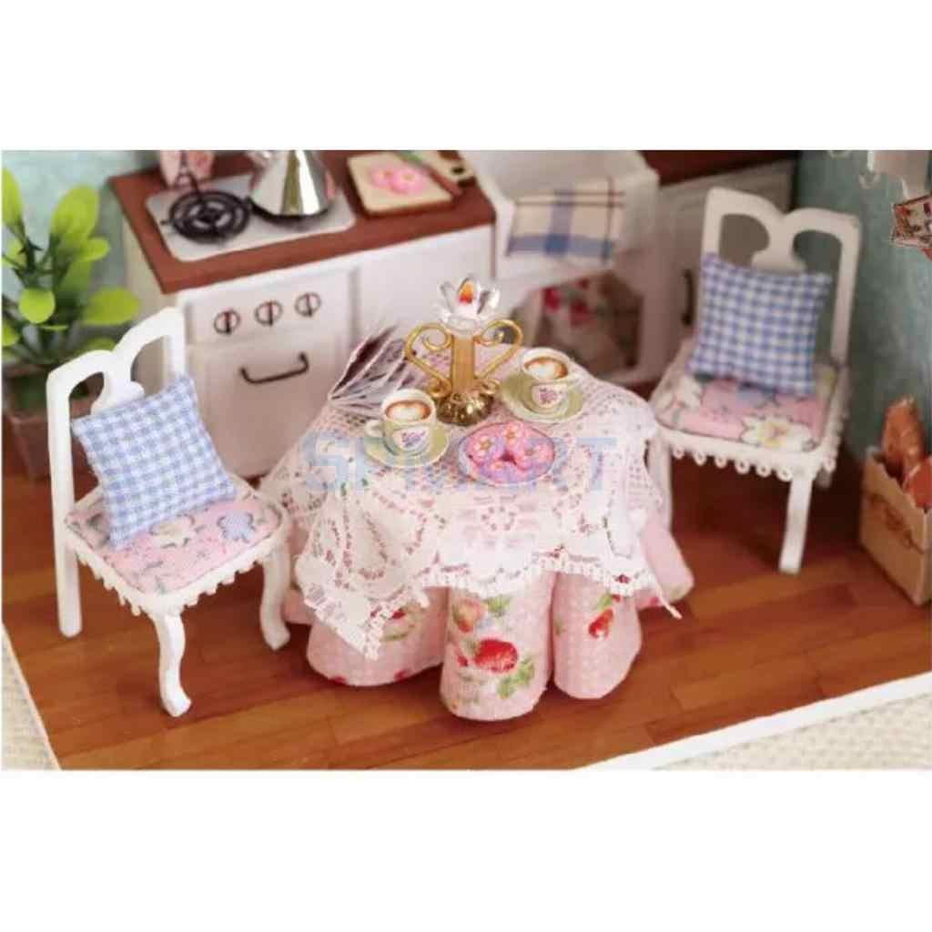 Detail Feedback Questions About Diy Handicraft Miniature Dollhouse
