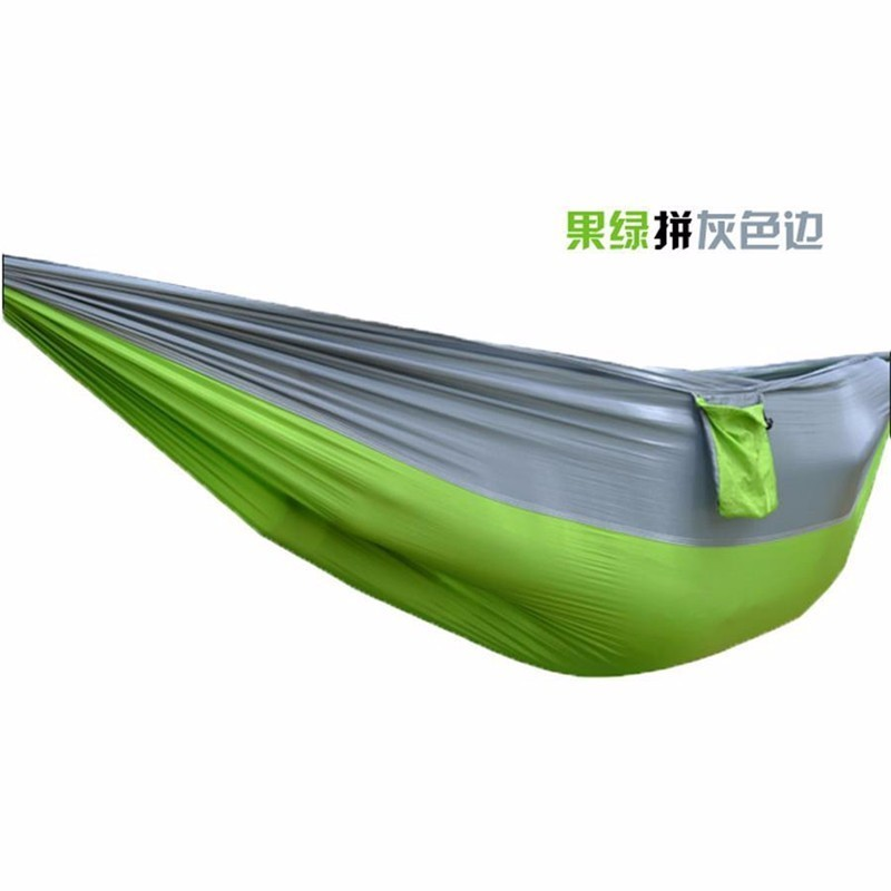 2 people Hammock 16 Camping Survival garden hunting swing Leisure travel Double Person Portable Parachute outdoor furniture 23