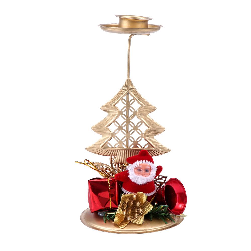 Vintage Christmas Candle Holder Candlestick Home Party