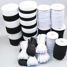 1 metre/grup 2-6cm düz elastik bant dikiş konfeksiyon aksesuarları naylon lastik bant giyim pantolon DIY dokuma dikiş aksesuarları